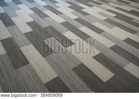 The New Installed Carpet Inside Office Building
