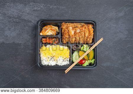 Japanese Tonkatsu Bento