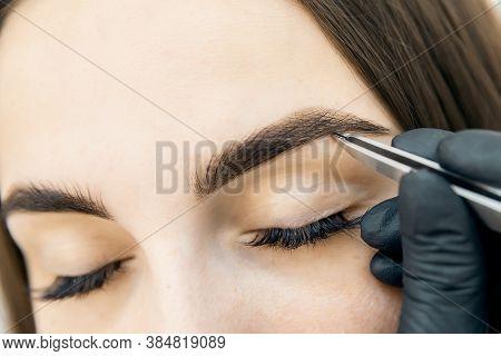 Brow Correction Master Tweezers Depilation Of Eyebrow Hair In Women