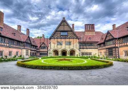 Cecilienhof Palace In New Park, Potsdam, Germany - May 2019