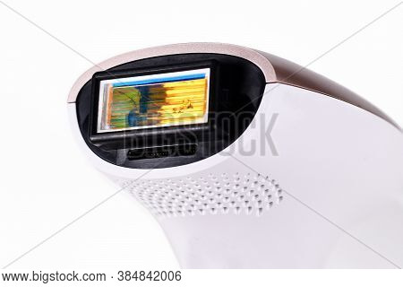 Head Of An Ipl 'intense Pulsed Light' Laser Hair Removal Home Device