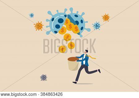 Business Opportunity Or Bargain Stock Investment In Coronavirus Covid-19 Crisis Or Economic Recessio