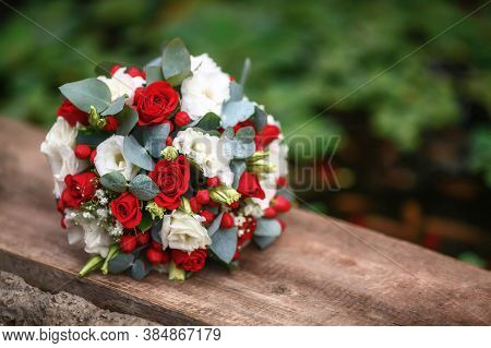 Rose Flower Background. Colorful Roses Flower. Roses Flower Bouquet. Garden Rose. Red Rose Pattern.