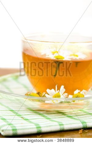 Medicinal Decoction With Flowers Of Chamomile