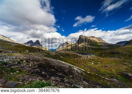 picturesque summer mountain landscape, Norway