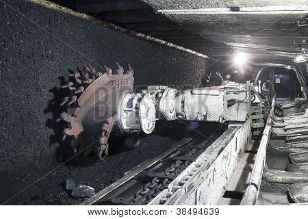 Coal Mine Excavator
