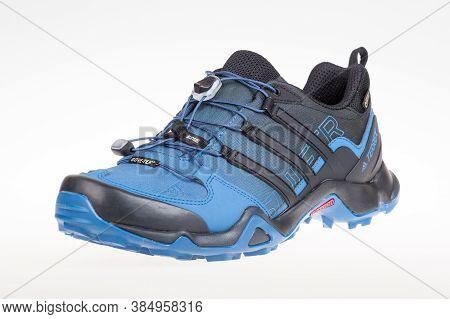 Varna , Bulgaria - August 12, 2017 : Adidas Terrex Swift Sport Shoe. Product Shot. Adidas Is A Germa