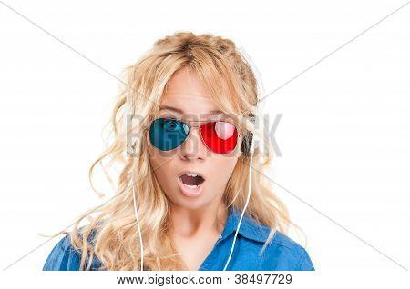 Girl Watching 3D Movie.