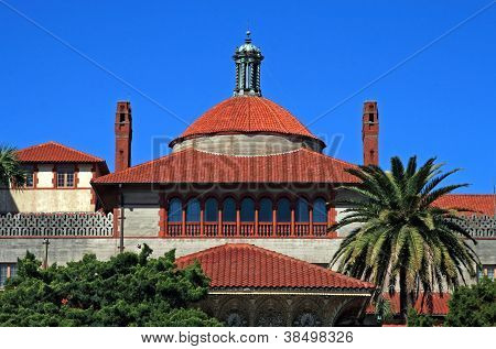 Beautiful Flagler college located in historic St Augustine Florida poster