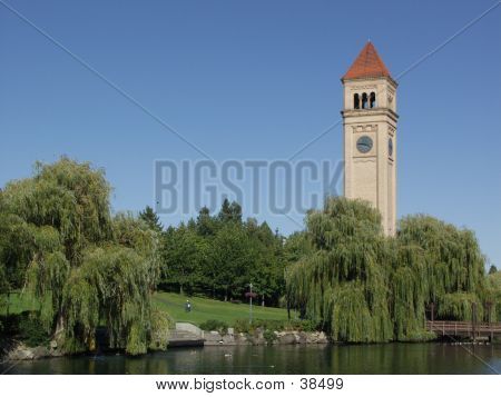 Spokane Clocktower (landscape)