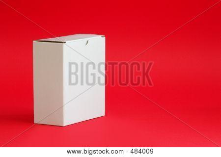 Weißer Karton