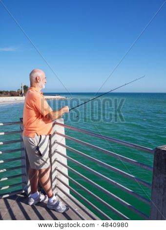 Grandpa Loves To Fish