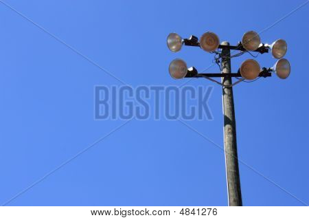 Baseball Field Light Pole