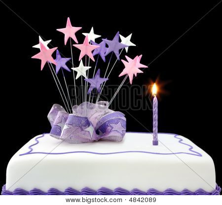 Cake With Single Candle