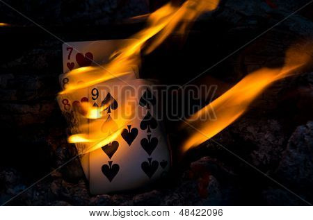 Hot Cribbage Hand
