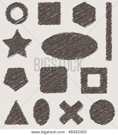 grunge vector textures elements