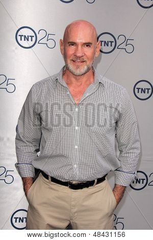 LOS ANGELES - JUL 24:  Mitch Pileggi arrives at TNT's 25th Anniversary Party at the Beverly Hilton Hotel on July 24, 2013 in Beverly Hills, CA