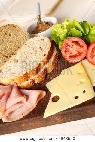 Sandwich In The Making