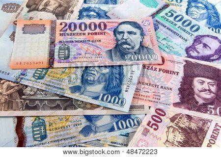 Hungarian Forint Banknotes
