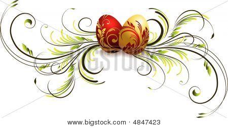 Easter Egg Vignette