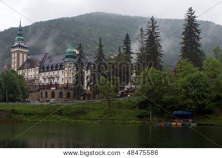 The Palace Hotel In The Bukk Mountains At Lillafured, Miskolc, Hungary