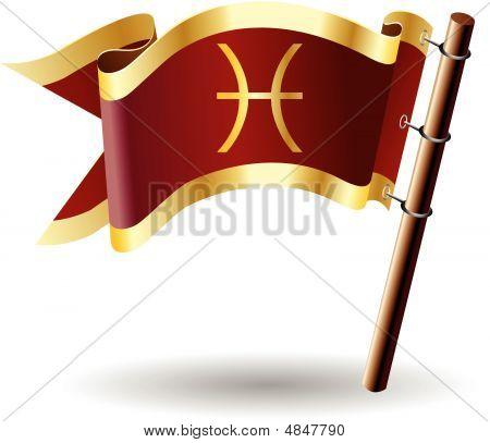 Royal-flag-astrology-sign-pisces