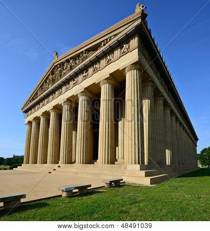 Parthenon Replica at Centennial Park in Nashville, Tennessee, USA. poster