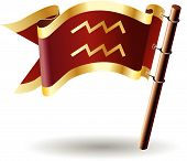 Royal-flag-astrology-sign-aquarius