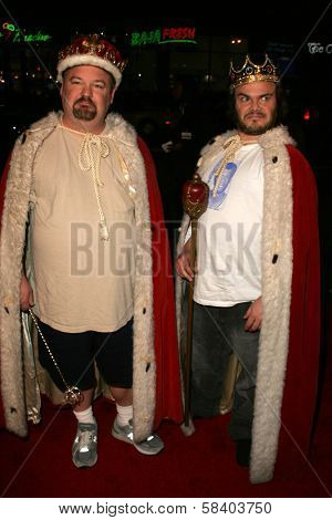 LOS ANGELES - NOVEMBER 09: Jack Black and Kyle Gass at the Los Angeles Premiere of