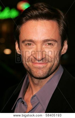 LOS ANGELES - NOVEMBER 11: Hugh Jackman at the United States Premiere of
