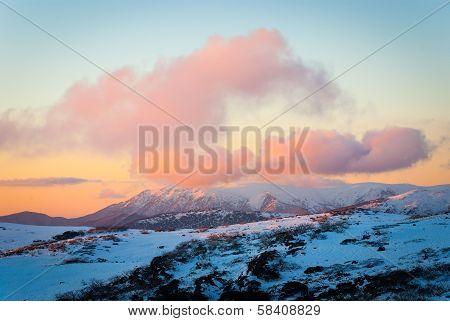 Bogong Sunset