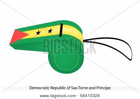 A Whistle Of The Sao Tome And Principe