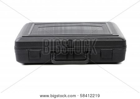 Black closed plastic case