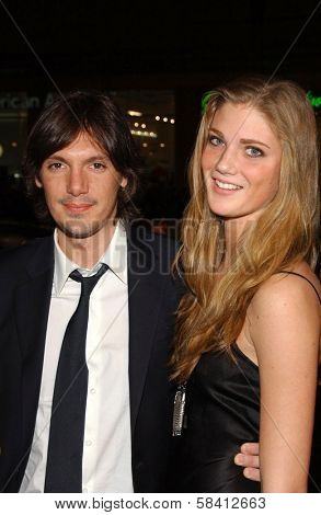 HOLLYWOOD - DECEMBER 06: Lukas Haas and guest at the premiere of