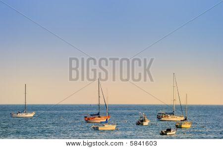 Boats At Sea