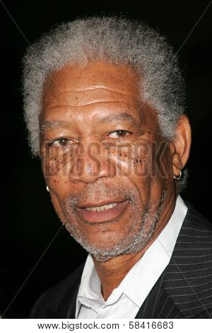 LOS ANGELES - NOVEMBER 27: Morgan Freeman at the premiere of