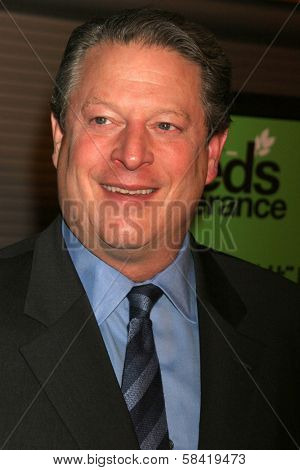 HOLLYWOOD - DECEMBER 14: Al Gore at the party celebrating the winner of Current TV's