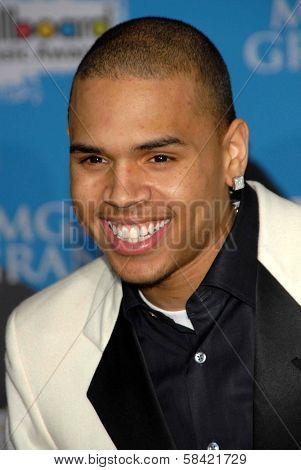 LAS VEGAS - DECEMBER 04: Chris Brown arriving at the 2006 Billboard Music Awards, MGM Grand Hotel December 04, 2006 in Las Vegas, NV
