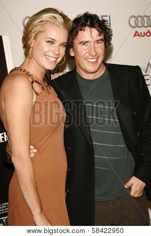 HOLLYWOOD - NOVEMBER 10: Rebecca Romijn and Steve Coogan at the AFI Fest 2006 Screening of