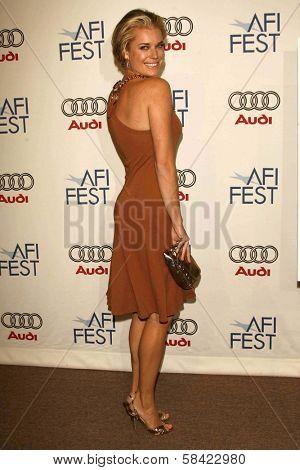 HOLLYWOOD - NOVEMBER 10: Rebecca Romijn at the AFI Fest 2006 Screening of