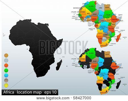Africa political map final