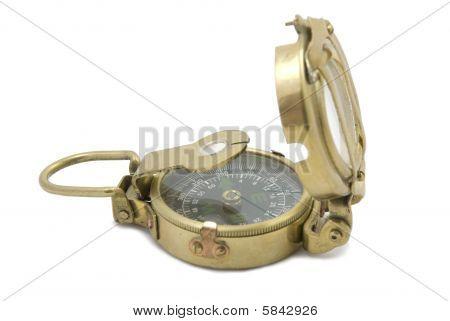 Messing-Kompass