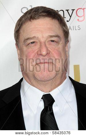 John Goodman at the 18th Annual Critics' Choice Movie Awards Arrivals, Barker Hangar, Santa Monica, CA 01-10-13