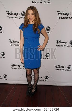 Eden Sher at the Disney ABC Television Group 2013 TCA Winter Press Tour, Langham Huntington Hotel, Pasadena, CA 01-10-13