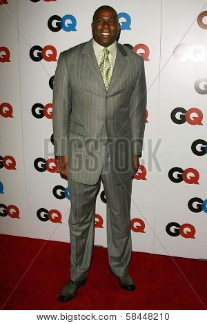 LOS ANGELES - NOVEMBER 29: Magic Johnson at the GQ Man of the Year Awards at Sunset Tower Hotel November 29, 2006 in Los Angeles, CA.