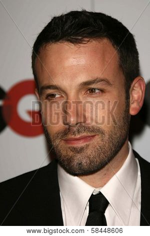 LOS ANGELES - NOVEMBER 29: Ben Affleck at the GQ Man of the Year Awards at Sunset Tower Hotel November 29, 2006 in Los Angeles, CA.