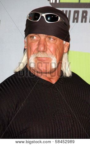 CULVER CITY, CA - DECEMBER 02: Hulk Hogan at the VH1 Big in '06 Awards on December 02, 2006 at Sony Studios, Culver City, CA.