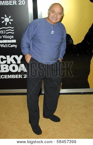 HOLLYWOOD - DECEMBER 13: Burt Young at the world premiere of