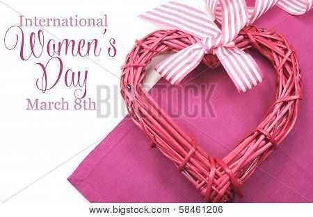 Happy International Women's Day, March 8