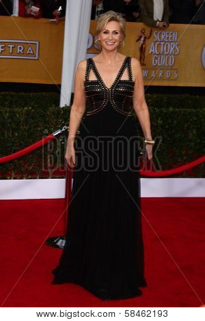 Jane Lynch at the 19th Annual Screen Actors Guild Awards Arrivals, Shrine Auditorium, Los Angeles, CA 01-27-13